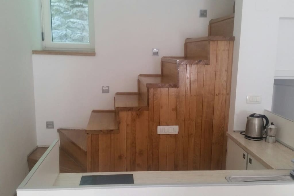 Stairs for first floor