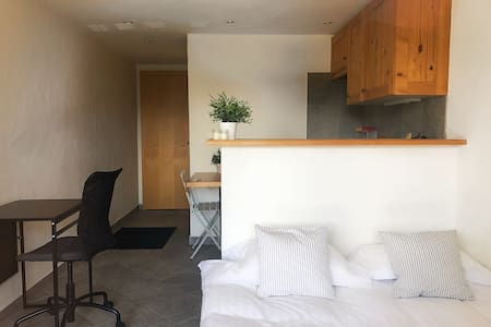 Double bed Studio in Center of Verbier w/ Terrace