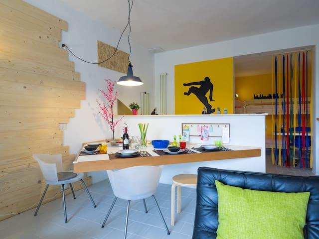 Suite ALE (per 3-4 persone) con giardino - Carmignano - Wohnung