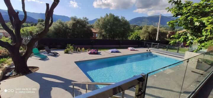 Superbe villa avec piscine privative chauffée