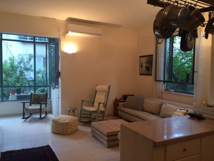 livingroom & balcony