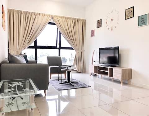 [WIFI] Puchong [6 ~ 8pax] Mayfair Luxury Homestay