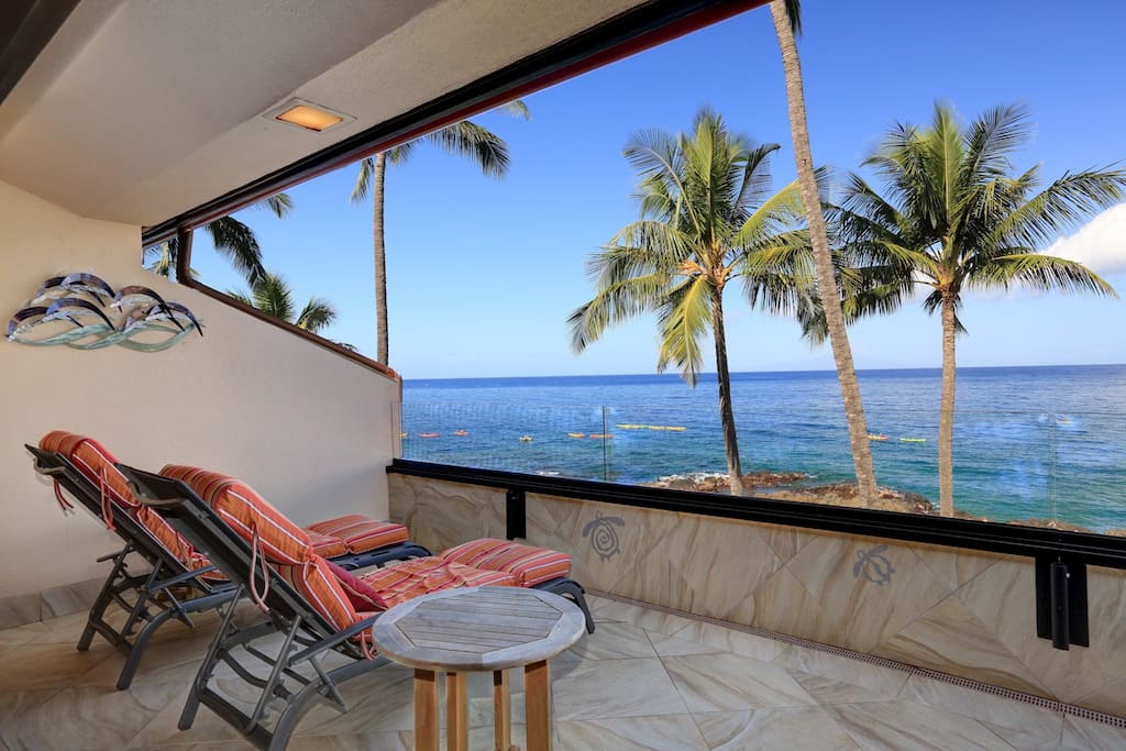 Large private lanai!