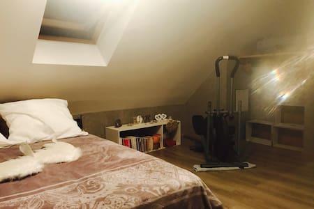 Chaleureuse chambre sous les toits - Chambéry - 独立屋