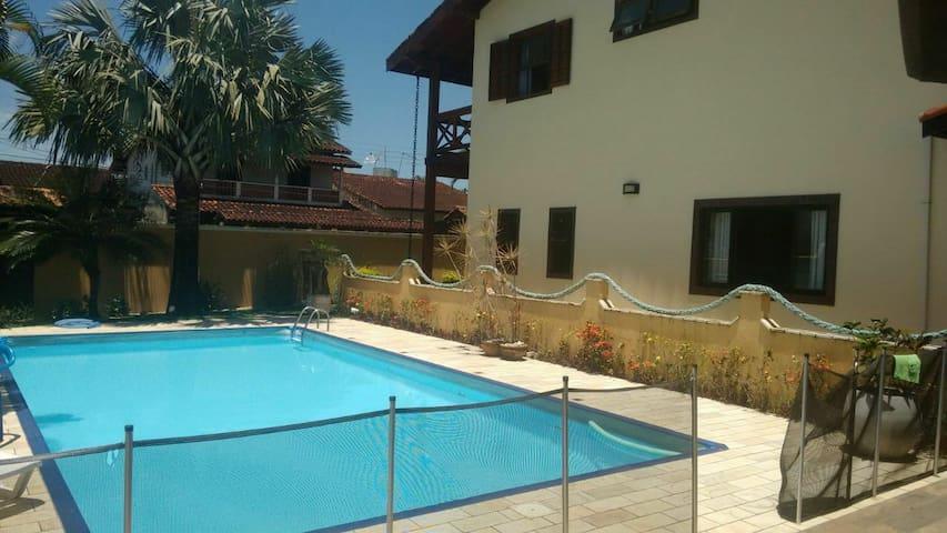 Casa, piscina 150m da praia, wi fi 120 mega, skytv