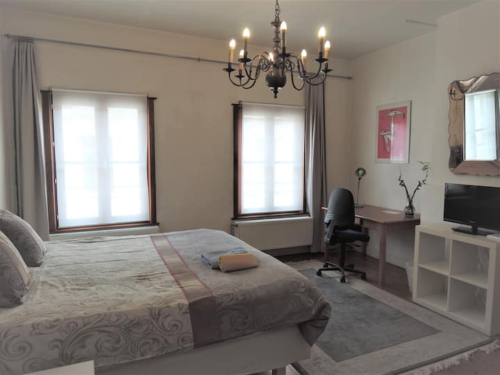 furnished apartment with 3 bedrooms