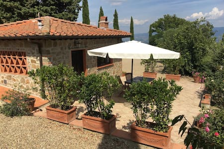 Typical Tuscan country house  - Greve in Chianti