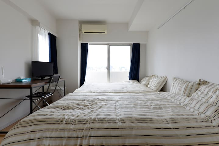 Skytree 12min by walk +wifi + bike / 1people free - 墨田区 - Apartment
