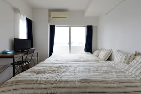Skytree 12min by walk +wifi + bike / 1people free - Wohnung