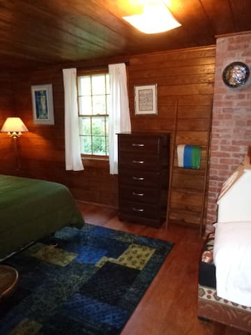 Initial view of second bedroom, with dresser