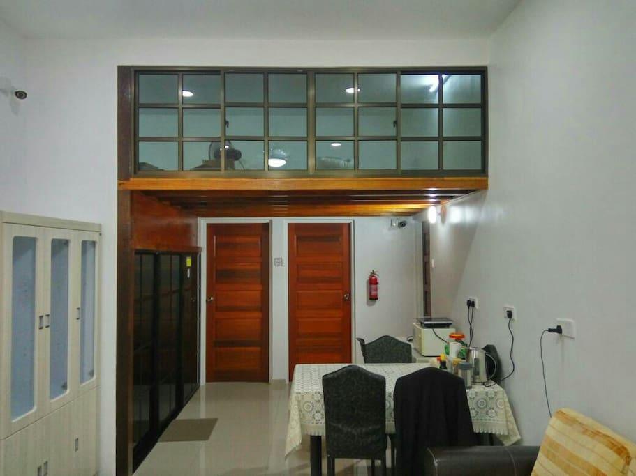 Hall, Pantry and Loft