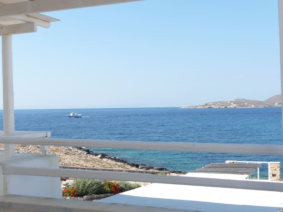 The view from the front veranda