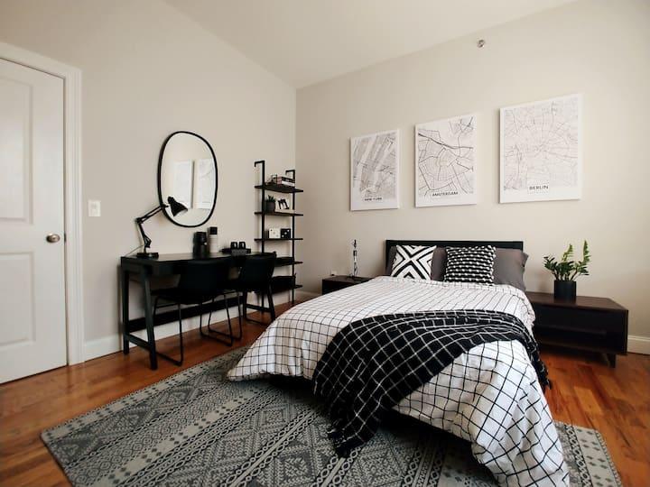 New cozy room near Manhattan and MetLife Stadium