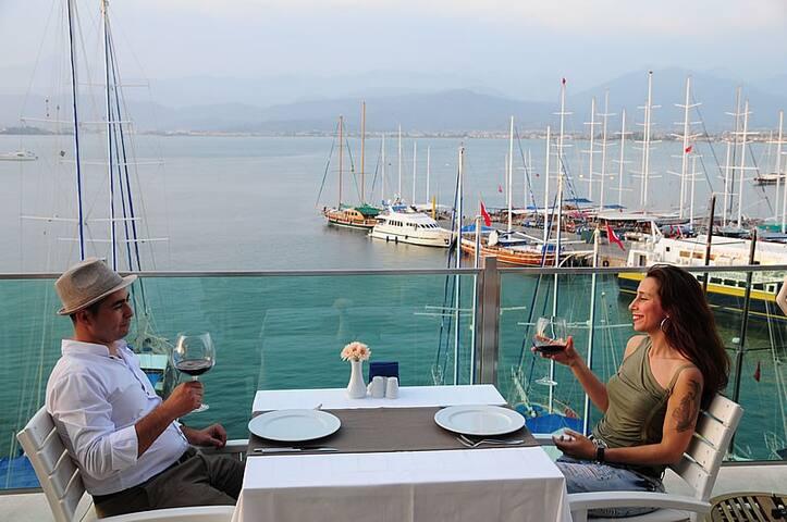Alesta Yacht Hotel - Sea View - Deniz Manzaralı