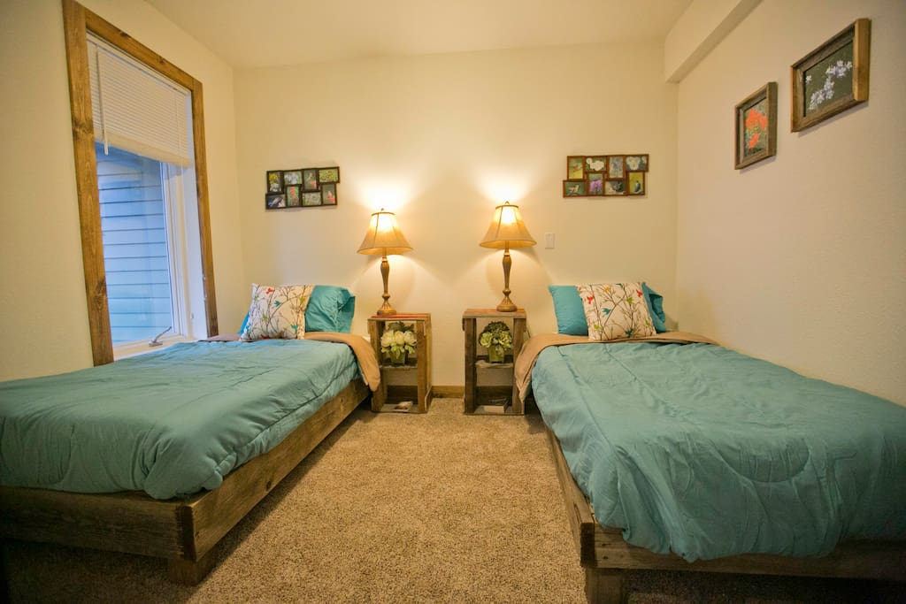 First Bedroom Option Singles
