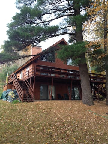Beautiful home on Great East Lake.