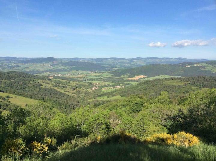 Superbe F3 Margeride sur hauteurs du Val d'Allier🌞