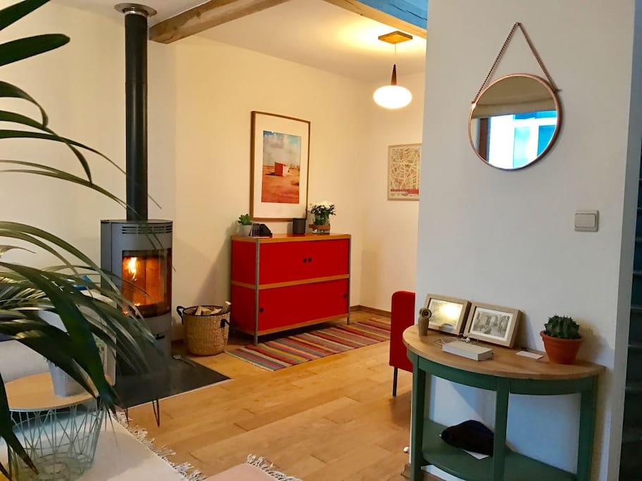 Fireplace - 1st Floor