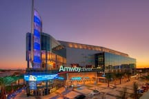 The Amway Center is less than 2 miles away and is where the Orlando Magic basketball and Solar Bears hockey call home, not to mention all the concerts and more that stop in.