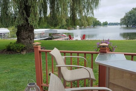 Beautiful lakefront home on  Marble Lake in Quincy