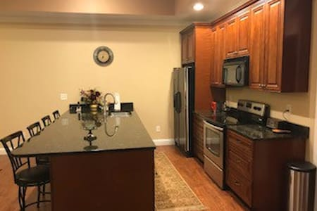 Comfy Private In-law Apartment- Suburb of Atlanta