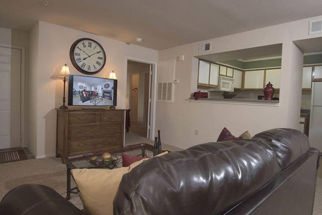 sample photo of model living room