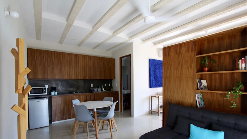 41 square meters studio close by the Caribbean