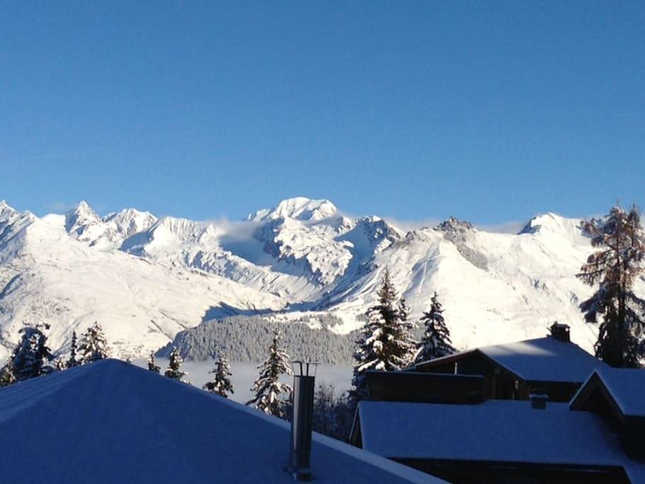 Vue Mont Blanc