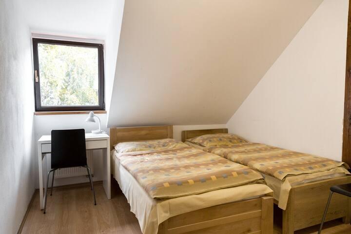 Ubytování pro 2 v centru Českých Budějovic