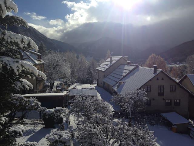 Joli T2 sous toit, vue splendide sur les montagnes - Saint-Chaffrey