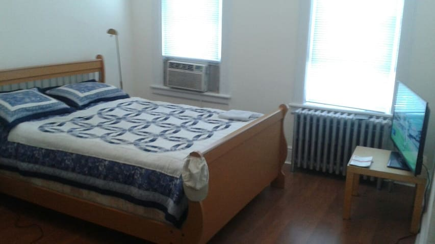 Spacious Private Room 20min to NYC - West New York - Maison