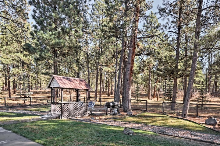 You'll have 3 acres to explore and easy access to nearby outdoor recreation.