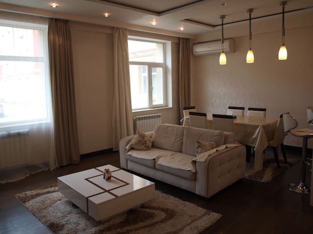 Beautiful three-bed room apartment in Baku - Baku - Pis