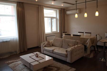 Beautiful three-bed room apartment in Baku - Baku