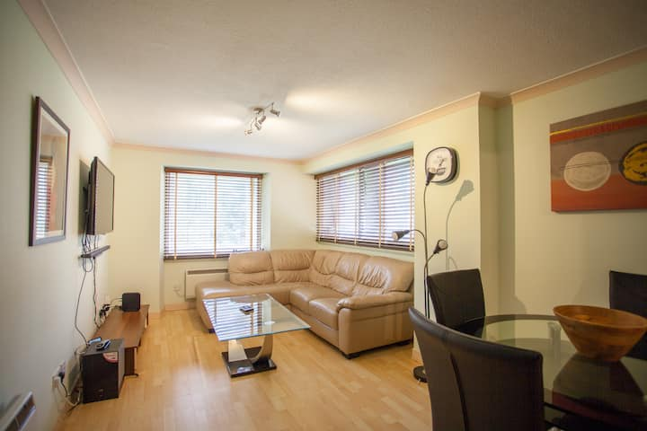 Cosy and bright flat in ideal location