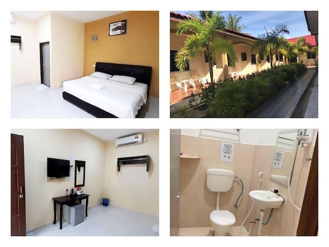 Cenang Beach | Double Bedroom | Free Wifi