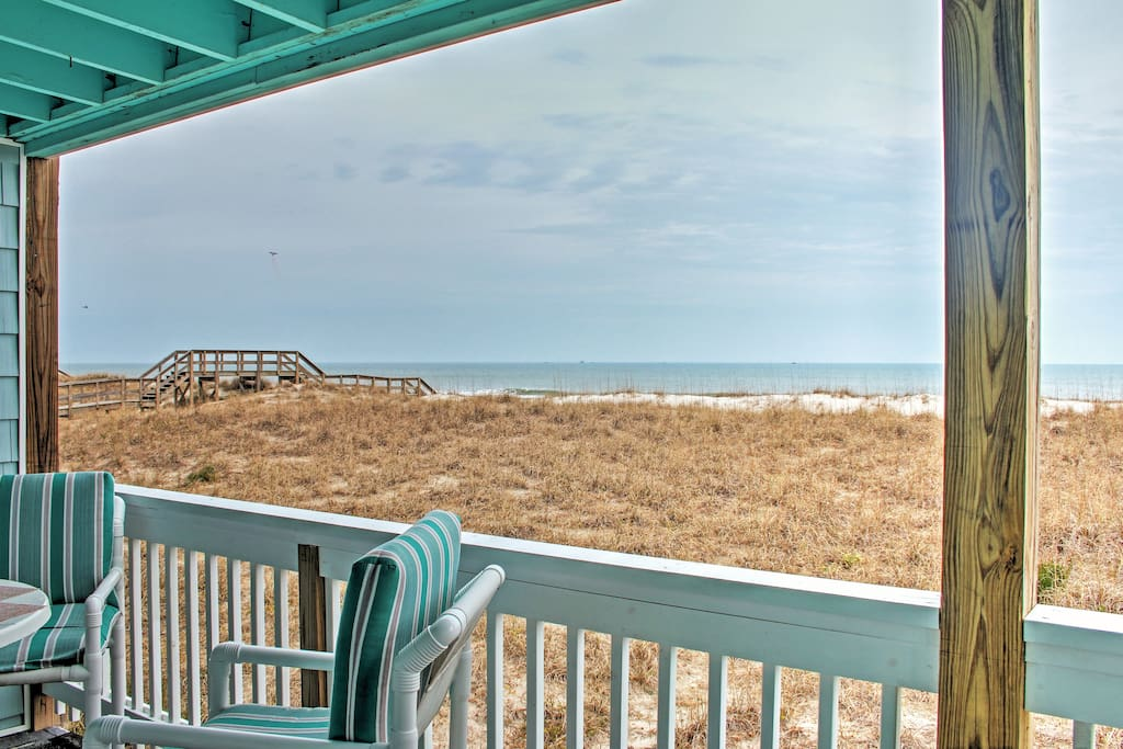This condo offers  an oceanfront getaway you won't forget!