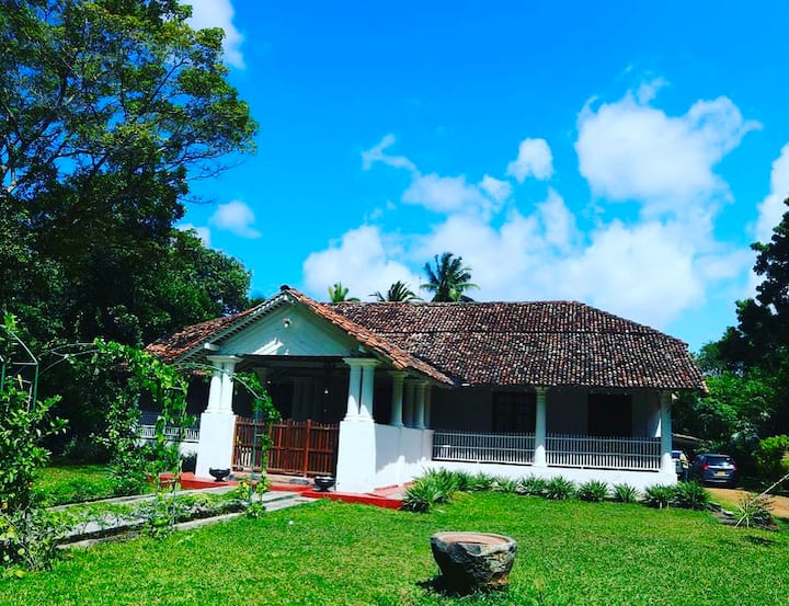 Inland villa galle