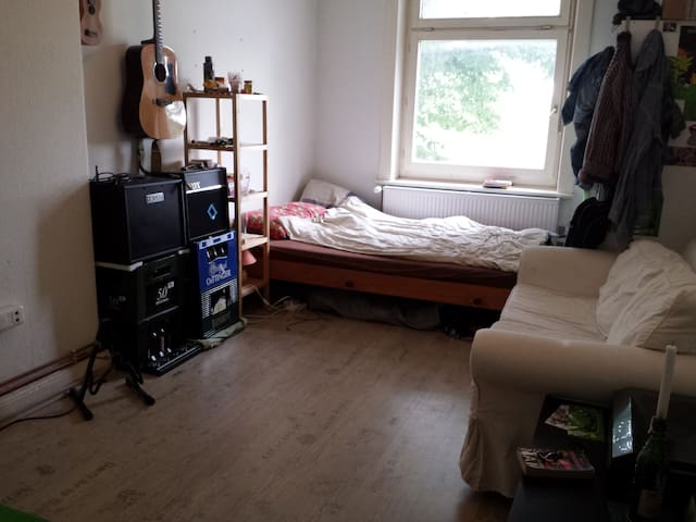 shared-flat room near hbf with beautiful levee - Amburgo - Condominio