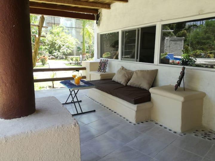 Villa el Edén en ixtapa para 8
