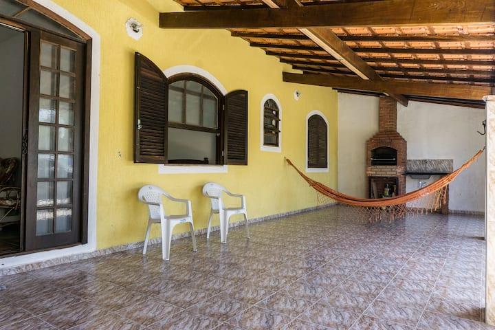 Casa em Ubatuba no Perequê-Açu