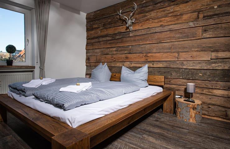 Das Schlafzimmer für gemütliche Stunden zu zweit