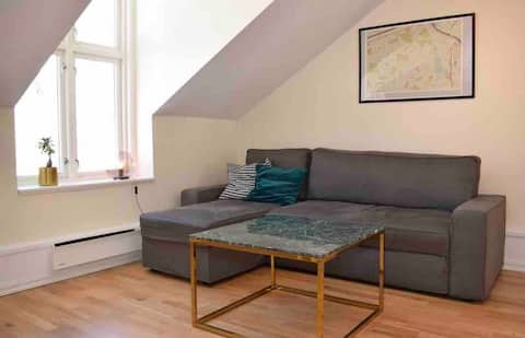Lovely 1 bedroom condo w free parking on premises.
