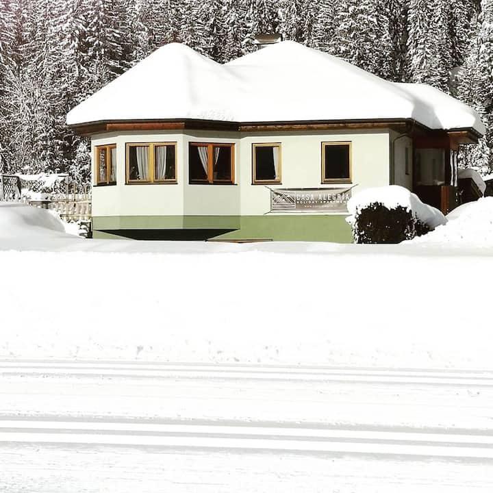 Casa Alegría - XC-skiing right from the doorstep