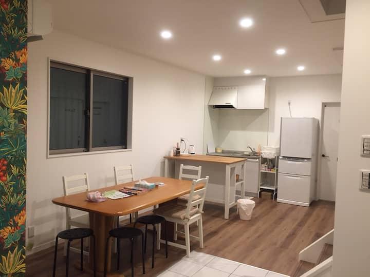 Newly-built,3min to Kyobashi