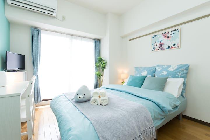 Nagoya Ocean color&white based cuteAPT 4minSTA - Higashi-ku, Nagoya-shi - อพาร์ทเมนท์