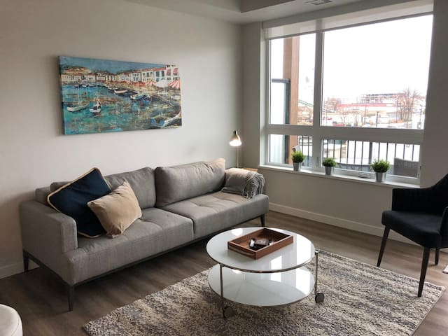 Modern 2 Bedroom in Downtown | Minutes to Beach
