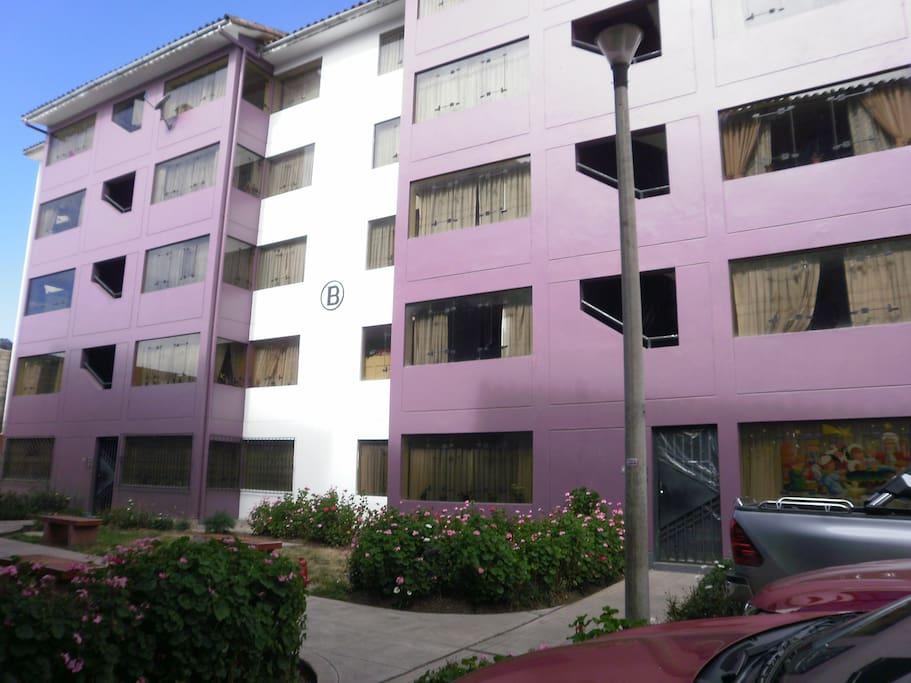 Edificio del departamento