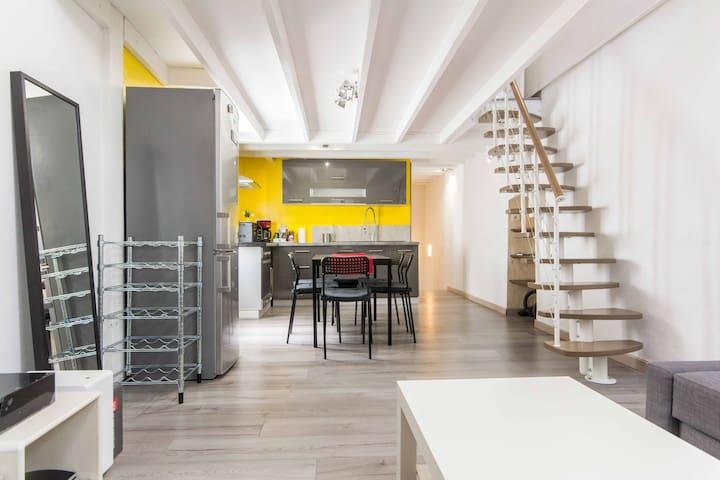 Mini loft centre ville/ESC
