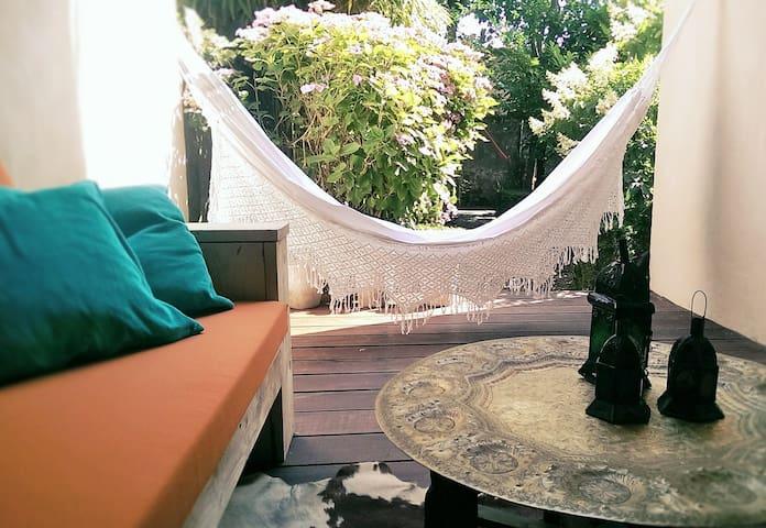 Super Cosy Apt. met Tuin/with Garden @ De Haan - De Haan - Wohnung
